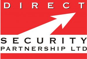 Direct Security Logo - MR Printers graphic design